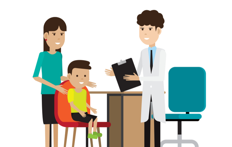 親 子供 医者