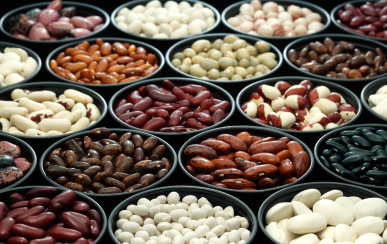 複数種類の豆